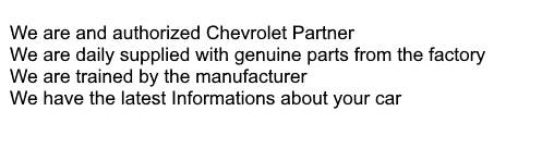 Chevrolet Dealer Advantage