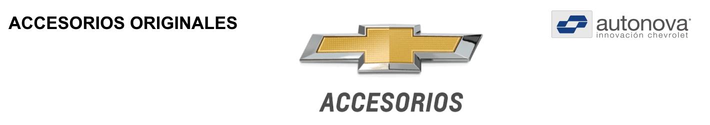 Chevrolet Accesorios originales