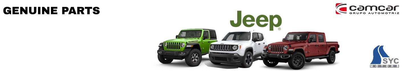 Jeep Genuine Spare Parts