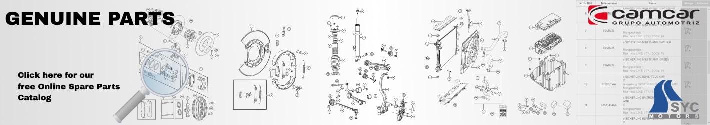 Jeep free Genuine Spare Parts Catalog
