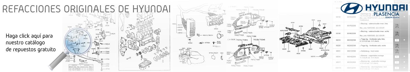 Hyundai Catálogo de Refacciones