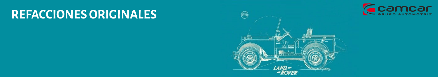 Land Rover con catálogo de repuestos originales