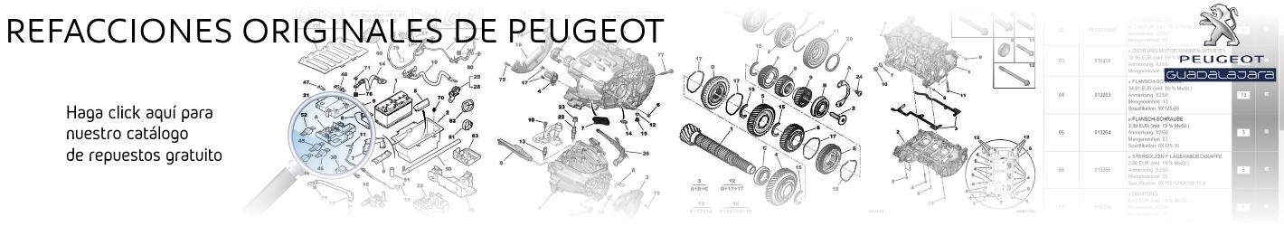 Peugeot Catálogo de Refacciones